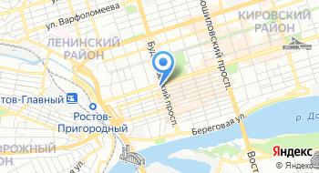 Ростовская государственная консерватория имени С.В. Рахманинова на карте