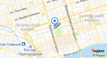 Ассоциация Совет муниципальных образований Ростовской области на карте