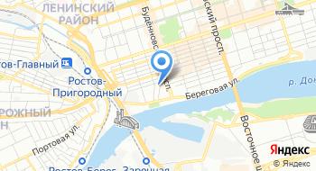 ГКУ Центр занятости населения города Ростова-на-Дону на карте