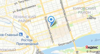 Дом офицеров Северо-Кавказского Военного округа на карте