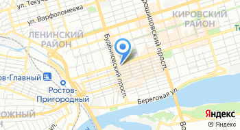 Ростов ЦУМ на карте