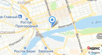 Азово-Черноморское территориальное управление Росрыболовства на карте