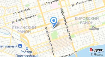 Территориальная избирательная комиссия Ленинского района на карте