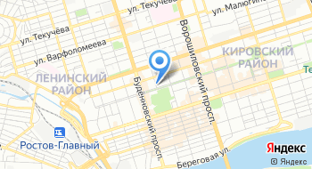 Отдел ЗАГС Администрации Ленинского района г. Ростова-на-Дону на карте