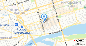 Старый Ростов на карте