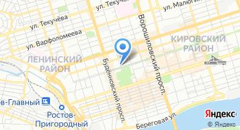 Ростовская яхтенная школа на карте