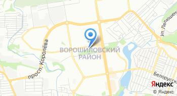 Отдел статистики Ворошиловского района на карте