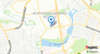 Ростовский камень на карте