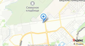 Прокуратура Ворошиловского района г. Ростов-на-Дону на карте