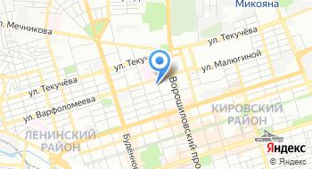 Федеральное бюджетное учреждение науки Ростовский научно-исследовательский институт микробиологии и паразитологии на карте