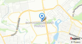 Территориальная избирательная комиссия Ворошиловского района на карте