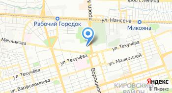 Южно-Российская Ассоциация студенческих профсоюзных организаций на карте