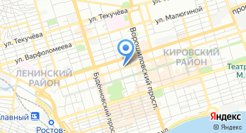 Учебно-методический центр по Гражданской Обороне и Чрезвычайным Ситуациям Ростовской области на карте