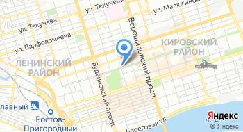 Управление ЗАГС Ростовской области на карте