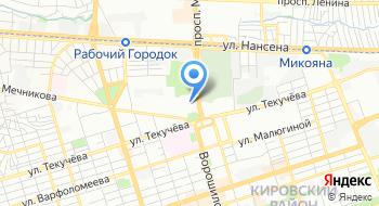 Промышленный коворкинг на Дону Garaж на карте