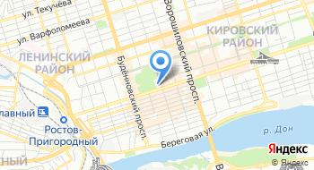 Муниципальное казначейство города Ростова-на-Дону на карте