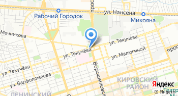 Теннисный клуб Динамо на карте