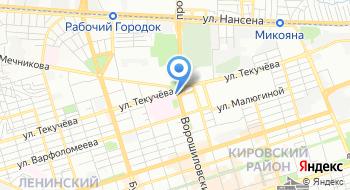 Городская больница № 1 им. Н. А. Семашко Города Ростова-на-дону на карте