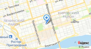 Управление Государственной Фельдъегерской Службы России по Юфо на карте