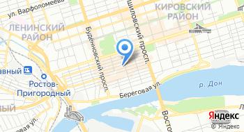 Производственно-коммерческая фирма Партия-Ростов на карте