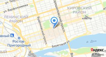 Федерация спортивной борьбы Ростовской области на карте