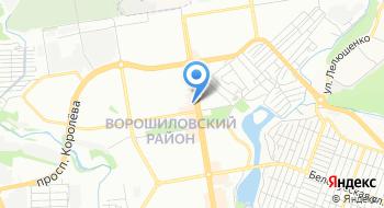 Отдел ЗАГС Администрации Ворошиловского района города Ростов-на-Дону на карте