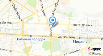 Россельхозбанк, Офис Ростовского регионального филиала на карте