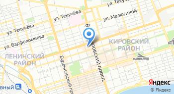 Альфа-Банк. Дополнительный офис Большая Садовая филиала Ростовский на карте