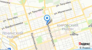 Ростовская областная организация Профсоюза работников народного образования и науки РФ на карте