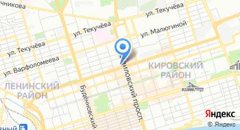 Ростовское кредитно-консалтинговое агентство на карте