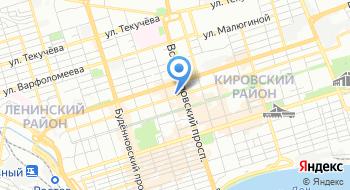 Автомоечный комплекс в Ростове Koch Avto на карте