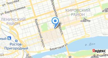 Управление наружной рекламы Администрации г. Ростов-на-Дону на карте