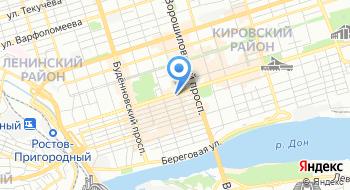 МКУ управление казной города Ростова-на-Дону на карте