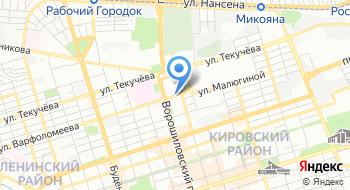 Отделение ПФР по Ростовской области на карте
