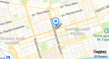 Отдел полиции № 3 УМВД России по городу Ростову-на-Дону на карте