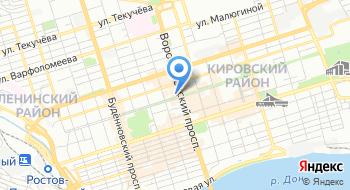 Бюро переводов Ростов на карте
