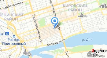 Ростовский центр печатей и штампов на карте