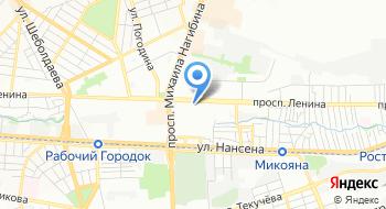 Дворец культуры Роствертол на карте
