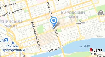 Стилист Мария Волковойнова на карте