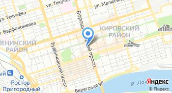 Швабе-Ростов-на-Дону на карте