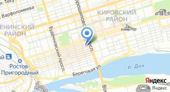 УФНС России по Ростовской области на карте
