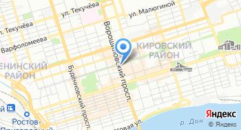 Ростовский мини-гольф клуб на карте