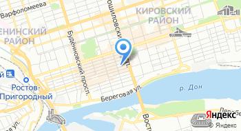 Медико-санитарная Часть Министерства Внутренних Дел Российской Федерации по Ростовской области на карте