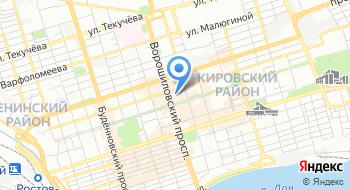 Интернет-портал 161.ru на карте