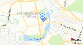 Ворошиловский РОСП г.Ростова-на-Дону на карте