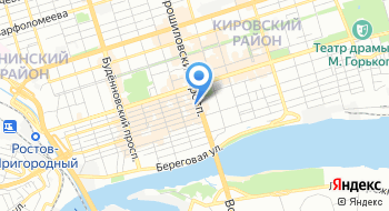 Альфа-Банк. филиал Ростовский на карте