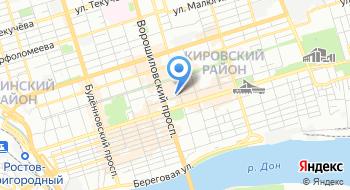 Ростовский центр Коррекции Слуха на карте