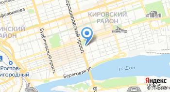 Государственное казенное учреждение Ростовской области Служба эксплуатации административных зданий Правительства Ростовской области на карте