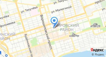 Диалайн на карте