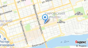 Ростовское протезно-ортопедическое предприятие на карте